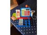 ELC cash register and play money