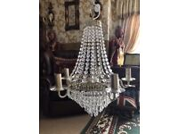 A Large Chandelier from John Lewis
