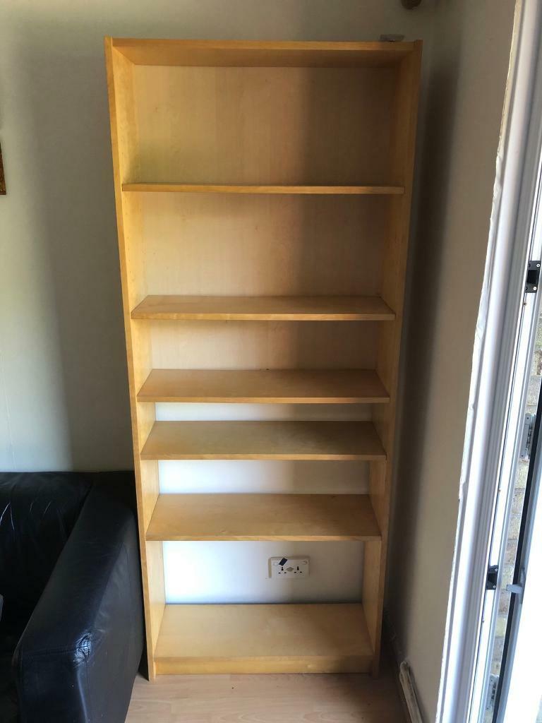 Ikea Billy Bookcase Oak Veneer 80x28x202 Cm In Southfields London Gumtree