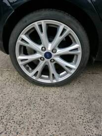 Ford fiesta alloy wheels x4.