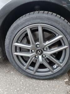 17 inch Lexus IS300 IS350 Winter Tires n rims package 225/45R17 $960 installed rim and tire package