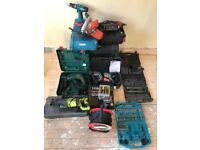 Job lot of power tools for sale