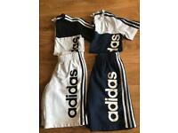 Adidas boys age 11-12 shorts and t shirts.