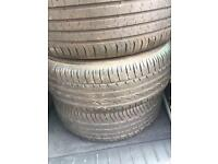 4xsteel wheels and tyres 205/55/r16 91w