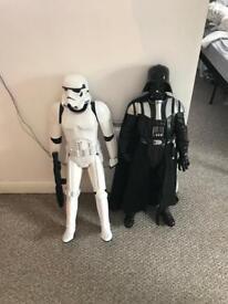 Star Wars Stormtrooper & Darth Vader