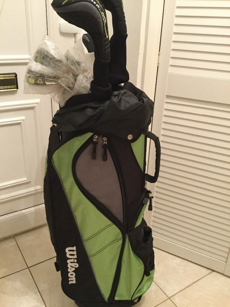 Ladies golf clubs new. With Bag and ten clubs.