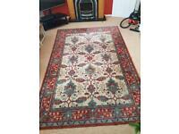 Large wool rug 2.9m x 2.0m