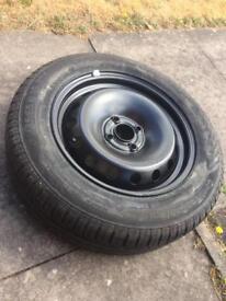 Fiat punto spare wheel tyre 175 65 R 14