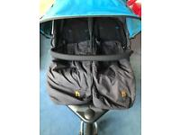 Out n' about V3 double pushchair