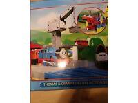 Thomas &Cranky Deluxe train set