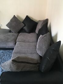Right sided corner sofa for sale