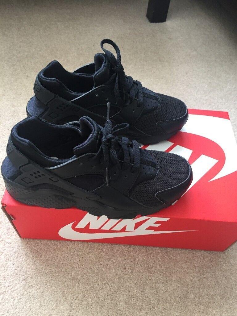 07e8045f83bd8 Kids Nike Huarache Trainers - Black
