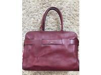 Paul Costelloe genuine leather laptop bag