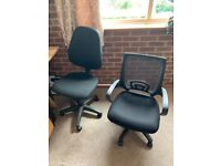 Pair of Office / study computer chairs