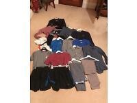 Men's clothing bundle.