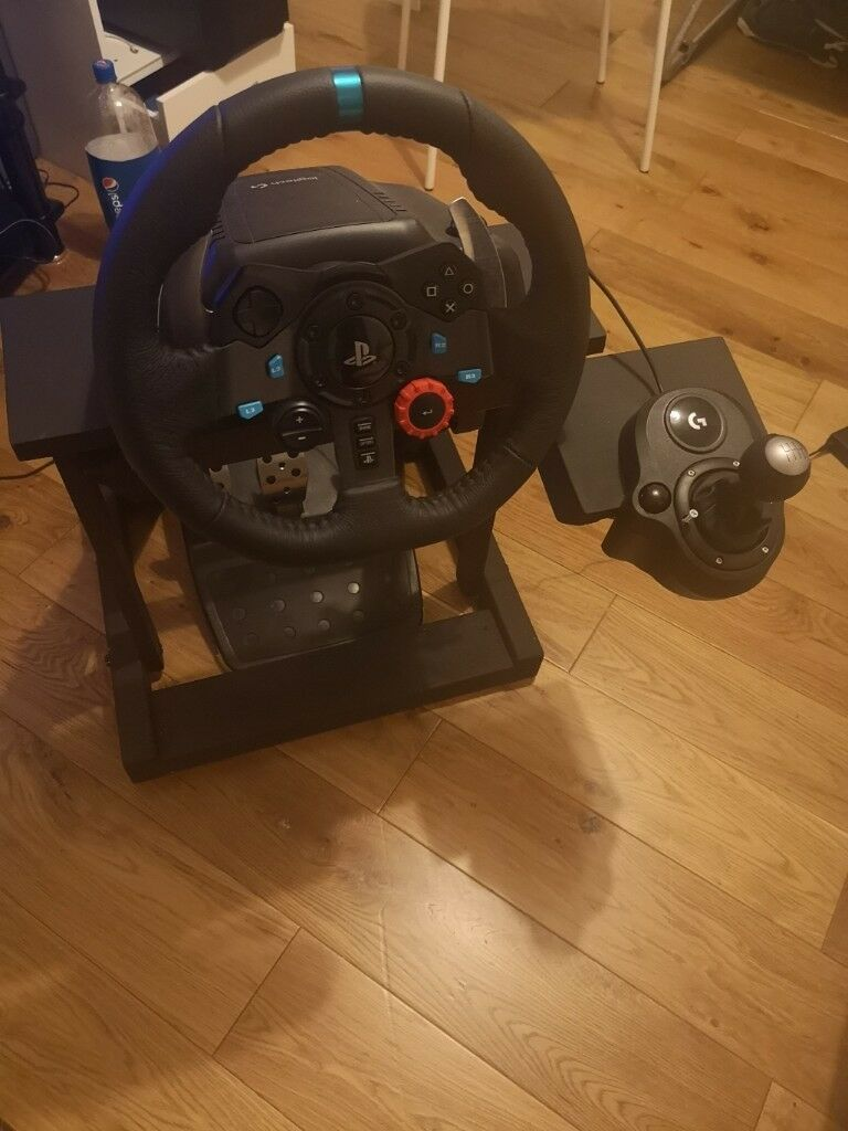 Logitech G29 Wheel And Shifter Bundle Free Homemade Stand In