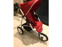 Britax doll pram and stroller with basket and bag