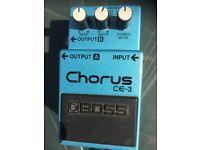 Boss Chorus pedal CE3