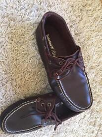 Timberland boat shoes men's uk6.5