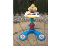 VTECH BABY SIT TO STAND MUSIC CENTRE. Good condition from a smoke/pet-free home