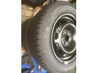Vw polo wheels and tyres