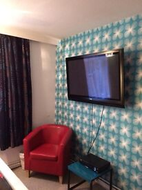 Short let double room close to city centre £195 per week