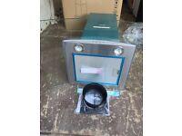 Glass Chimney Cooker Hood 70cm Baumatic