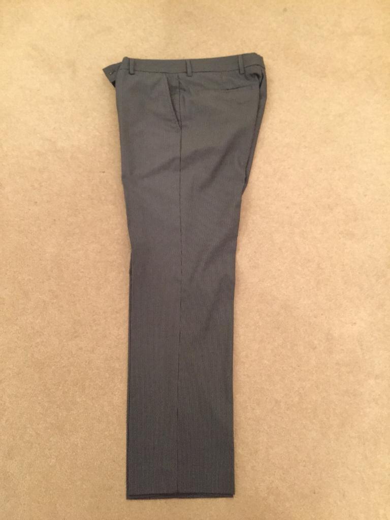 Mens pinstripe trousers - Burton - 32S