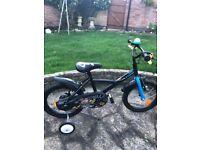 Decathlon 16'' Pirate kids bike childs bike