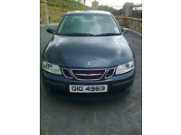 2005 Saab 93, great condition, MOT until July. High-spec, alloys, a great comfortable family car