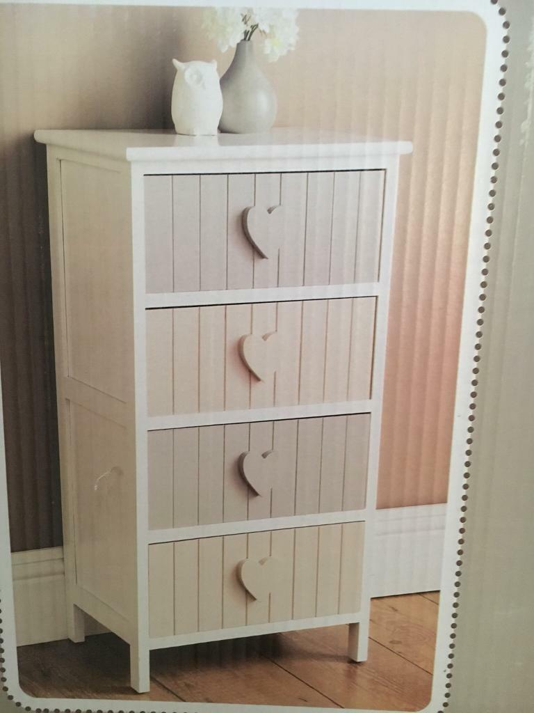 quality design eaae5 156a5 2 Karina 4 Drawer Chester Units   in Leicester, Leicestershire   Gumtree