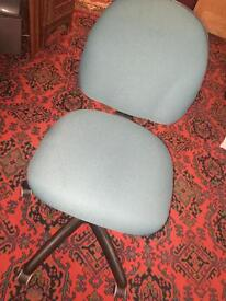 Two swivel office chairs £25 each ono