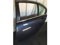 BMW 7 SERIES (E65/66) PASSENGER SIDE REAR DOOR - BLACK COLOUR - GOOD CONDITION