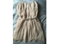 Stunning FCUK millennial pink dress size 12