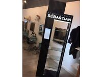 Wella Sebastian Stand for retail use