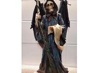 🌐20 inch statue of grim reaper 🌐
