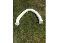 Vent Duct trunking, 2.5m c/w grill each end