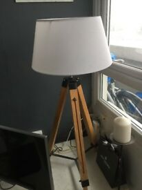 Stylish Floor Tripod Lamp
