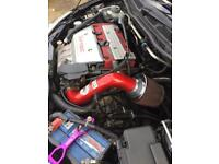 Civic type R induction kit K&N
