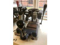keyline RS 206 mortice key cutting machine