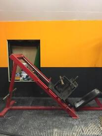 45* plate loaded leg press commercial grade - Olympic weights