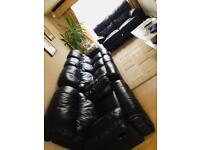Italian Leather Sofas with Recliners