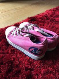Kids UK size 13 (EUR 32) Heeleys X2 - Pink