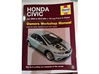 Haynes Manual Honda Civic 2006-2012