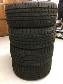 225 45 17 Nexen Winguard tyres part worn.