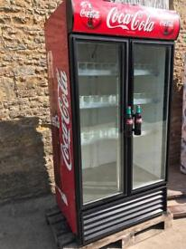 Can / bottle display double fridge