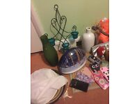 Household items and bric a brac