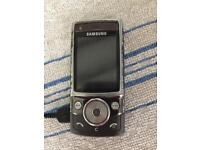 Wanted Samsung mobile flip up phone