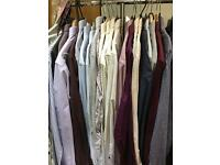 Selection of men's medium and 15.5 shirts some never worn