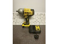 Dewalt DCF899 18V XR Brushless Impact Wrench 1/2 Drive 1x 5.0AH Batte